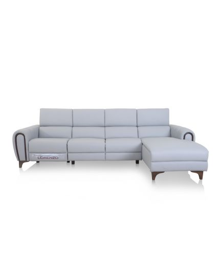 5847 L-Shape Sofa with Electronic Recliner