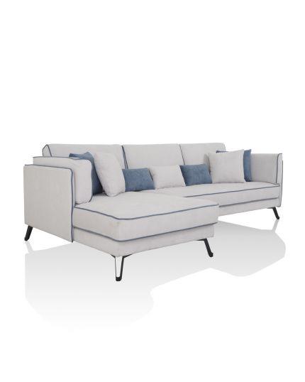 5869 L-Shape Sofa **Ready Stock**