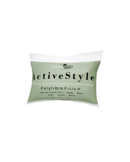 Lorenzo Aussie Sleep Active Style Polyfibre Pillow