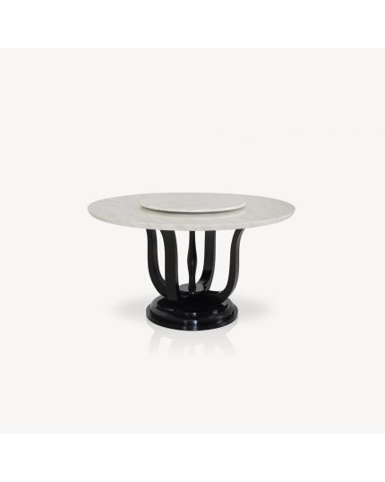 Stone Dining Table [ DTB-HT1960-6DTR135 ]