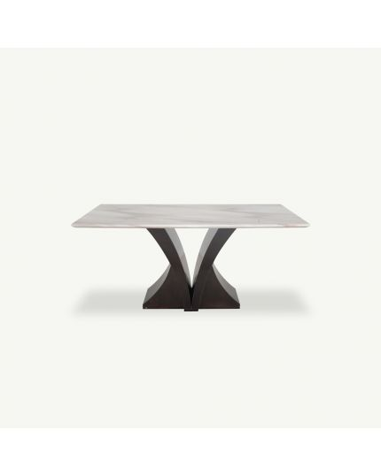 Stone Dining Table [ DTB-HT801-6DT160 ]