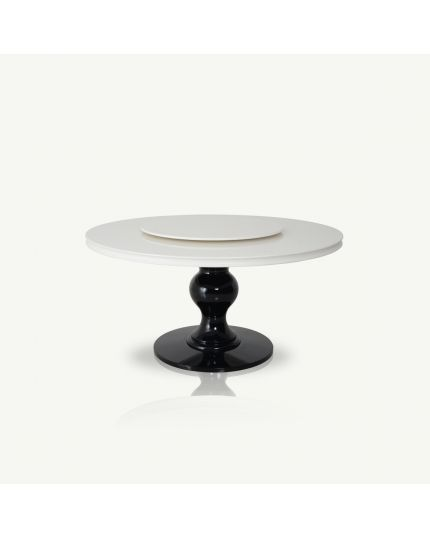 Stone Dining Table [ DTB-HT036-6DTR150 ]