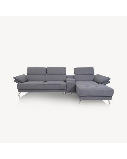 20068 L-Shape Fabric Sofa