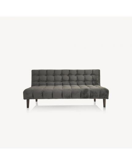 Sofa Bed [ Dark Brown Velvet ]