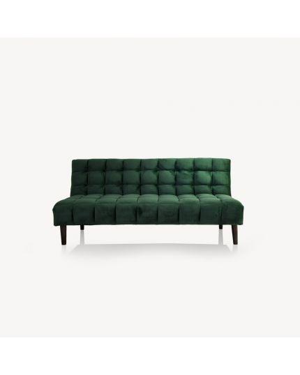 Sofa Bed [ Dark Green Velvet ]