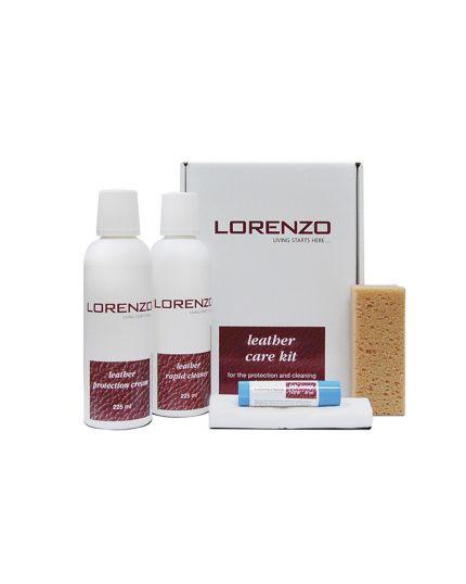Lorenzo Leather Cleaner Kit